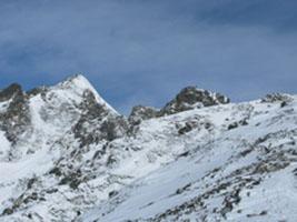 西穂高岳 独標《冬期》