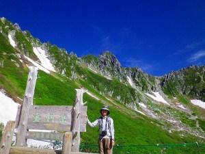 中央アルプス 千畳敷~宝剣岳~極楽平 岩場歩き
