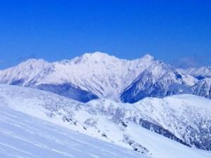 明神岳 1峰《残雪期》