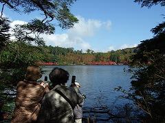 白駒池とニュウ、中山