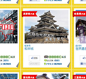 Matsumoto Castle Nominated for General Election of