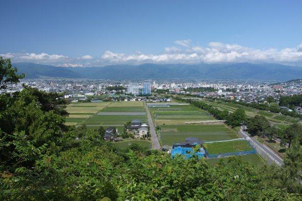 Nice view of Matsumoto