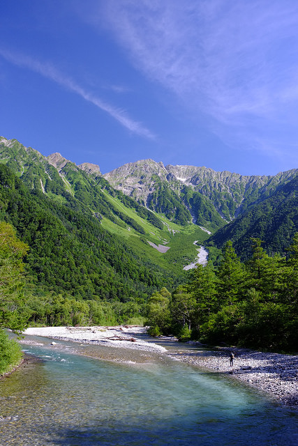 Japan Alps Kamikochi - A Serene Summer's Day in the National Park