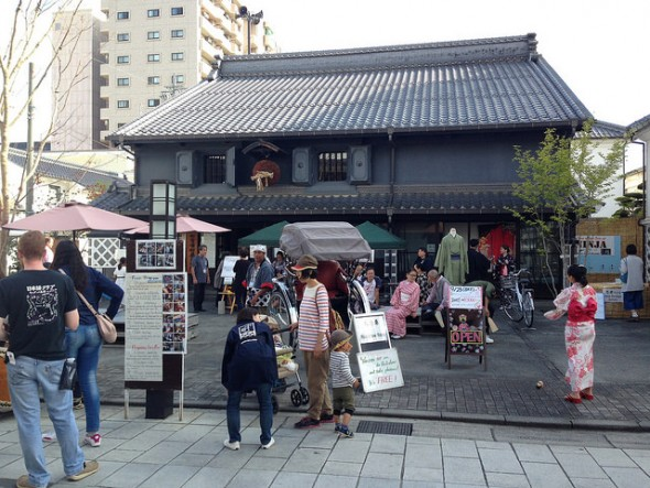 Almost 100 International Visitors to Nakamachi's Japanese Culture Event, Day 2!