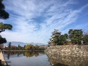 2017/11/10 松本城・岡の宮神社 まちなか紅葉情報