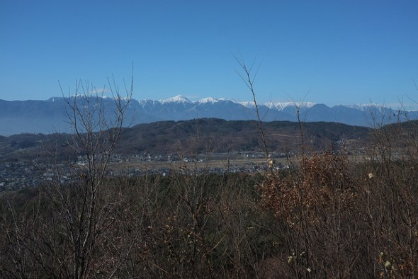 View from the look out point above Asama Hot Springs