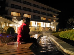 松本市美原溫泉區【翔峰飯店之溫泉】+【喜八】餐廳之體驗介紹