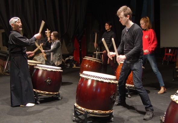 Crash-Course Taiko Drum Lesson