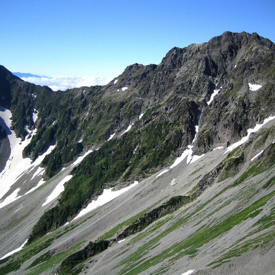 오쿠호타카다케(3,190m) 등산