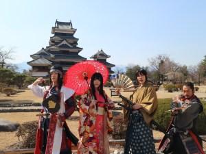 国宝松本城おもてなし隊