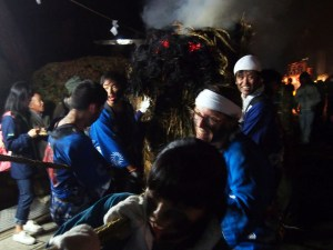 Asama Hot Spring Torch Festival