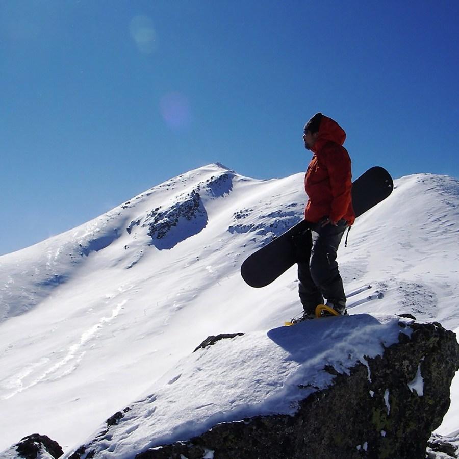 Снежный курорт горы Норикура