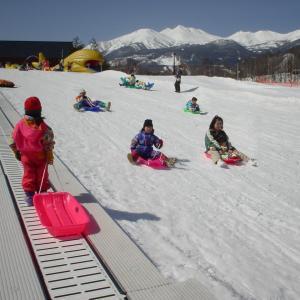 Sledding and Snow Play
