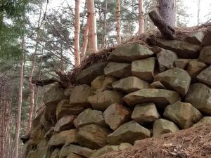 林城史跡 国史跡指定の山城