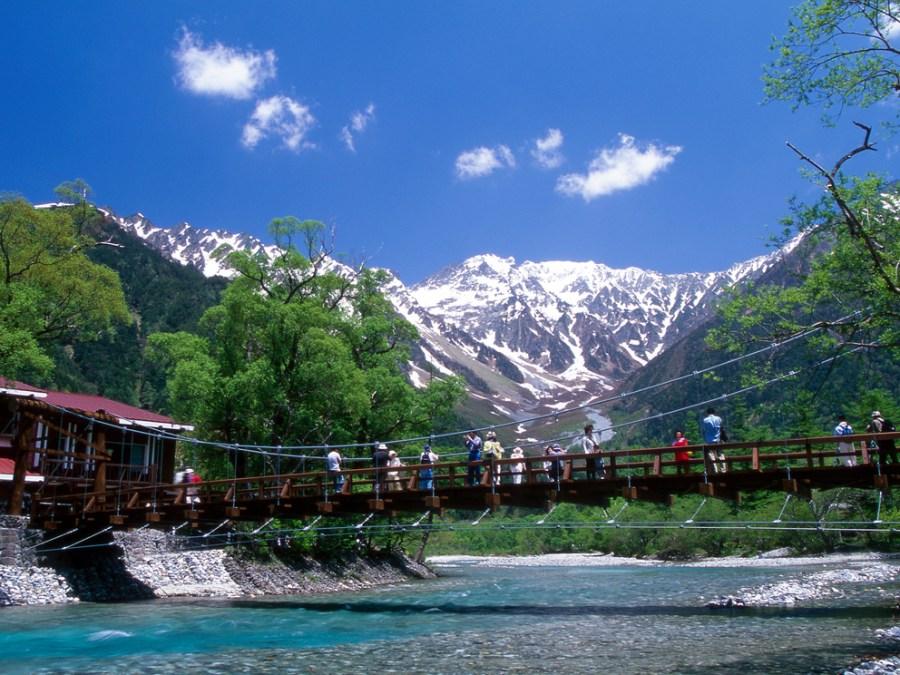 日本阿爾卑斯地區