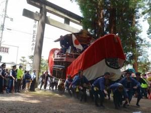 須々岐水神社例大祭「お船祭り」