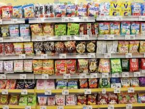 通过超市感受在日生活