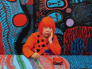 Visit the Japan Ukiyo-e Museum & see Yayoi Kusama's artwork by Bus