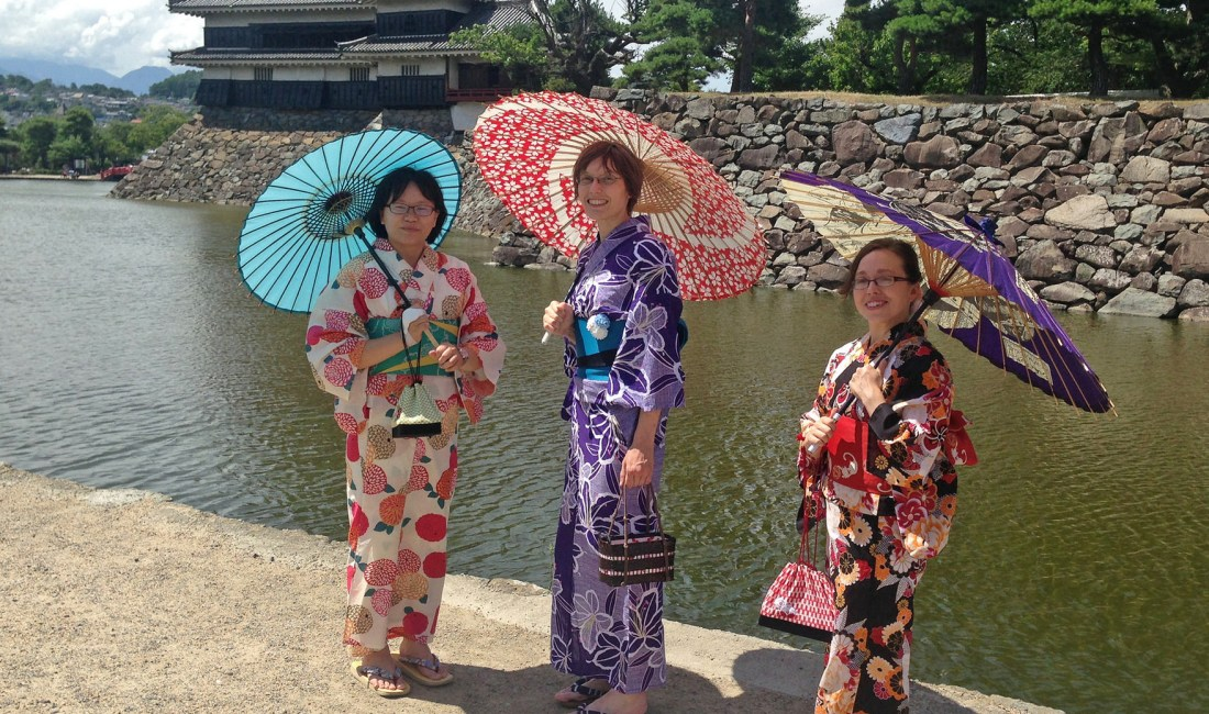 Explore Matsumoto in (Japanese) Style with Kimono and Yukata