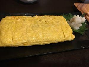 中華系外国人観光客に大人気の「手打ち蕎麦丸周のだし巻き卵」を食べてみた!!