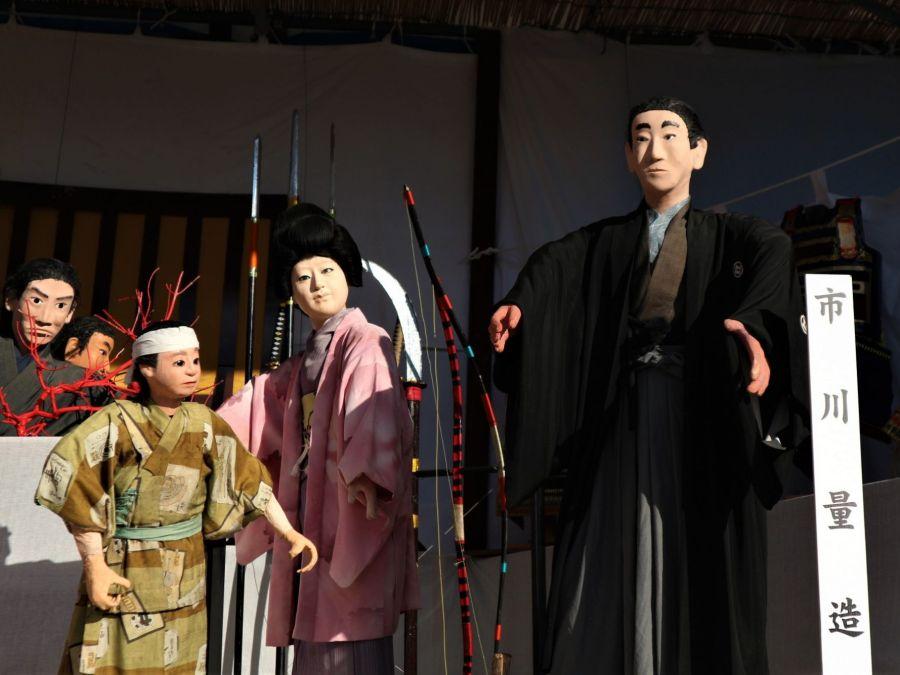 第37回 国宝松本城「人形飾り物展」市川量三物語
