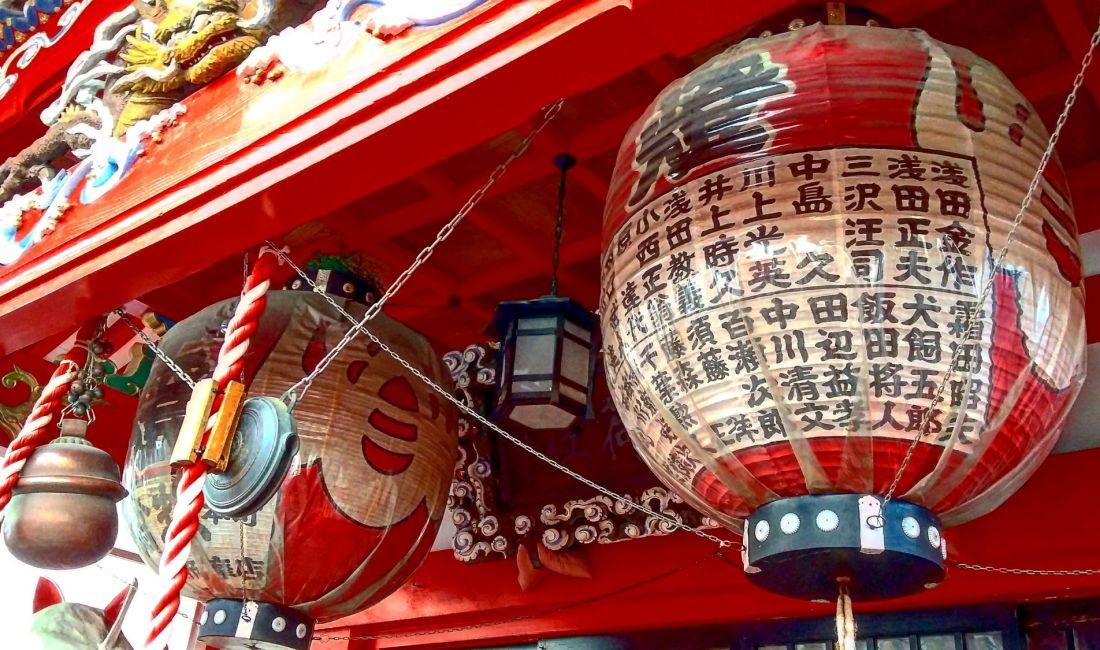 Le Temple Kasamori Inari, quand le passé côtoie le présent
