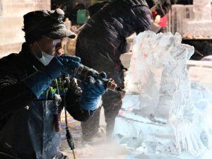 寒く熱い夜「チャンピオンシップ」国宝松本城氷彫フェスティバル2019