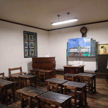旧開智学校教室