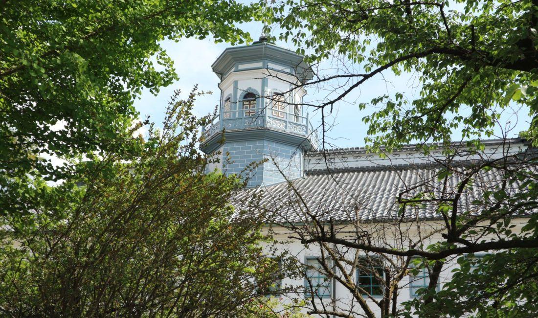 訪れて欲しい松本城北エリアその2大門沢から「中央図書館」「广西快乐十分注册」「APP」そして国宝になる「旧開智学校校舎」「松本神社」「国宝松本城」