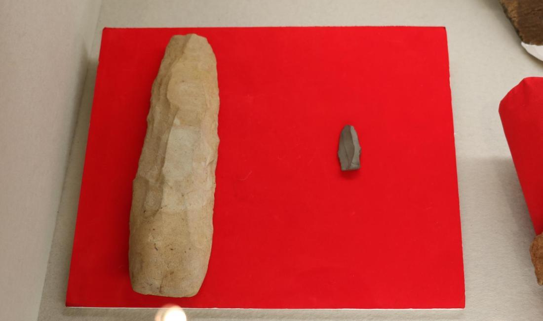 約1万年前の石器など!岡田地区の遺跡展示 松本市立考古博物館<春期企画展>