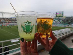 松本山雅FC「ホームタウンデー」「スタメシ」サンプロアルウィンは楽しさ盛り沢山!
