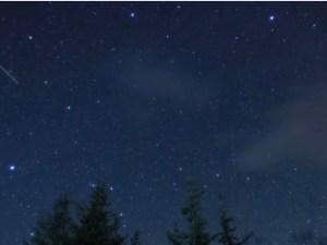 在家看流星群 乘鞍高原「豎琴星座流星群」