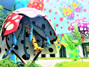 "Die Welt der KUSAMA Yayoi ""The Place for my soul"""