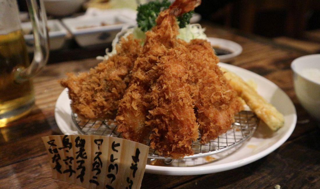 #松本の街を元気 蠣フライも美味しい!『かつ玄』26はしごチケットスタンプラリー