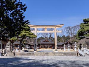 Le Temple Naganoken-Gokoku, un sanctuaire qui vaut le détour