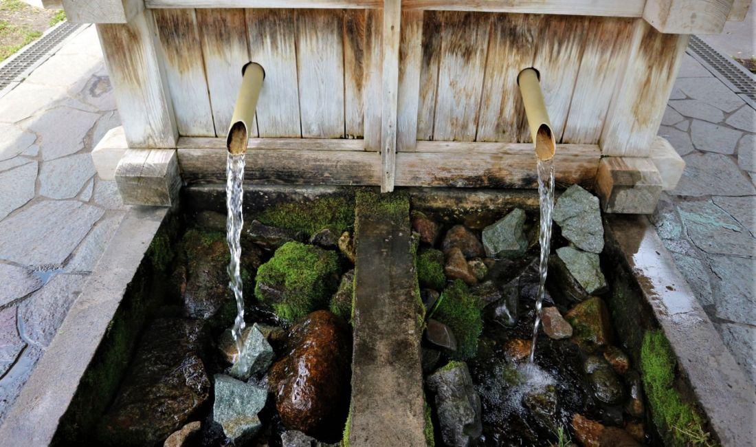 まつもと湧水巡り「北門大井戸」市民の井戸