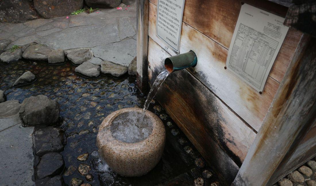 まつもと湧水巡り 「北馬場 柳の井戸 新しい柳を発見!」「葵の井戸」お城の北の井戸