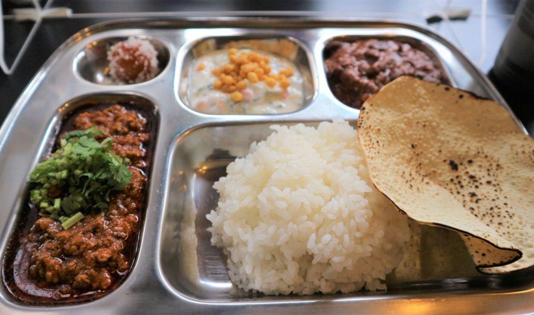 うら町にある人気のカレー屋さん「DOON食堂印度山」はしごマップスタンプラリー5
