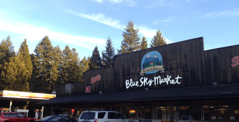 blue sky market blue river oregon