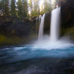 Mckenzie River Area Waterfalls Oregon