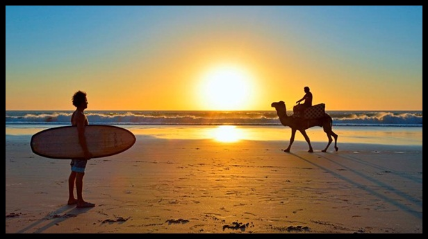 Agadir sunset framed 7