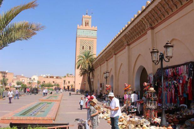 Marrakech travel guide: kasbah mosque