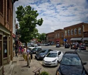 Uptown Mount Vernon, Iowa