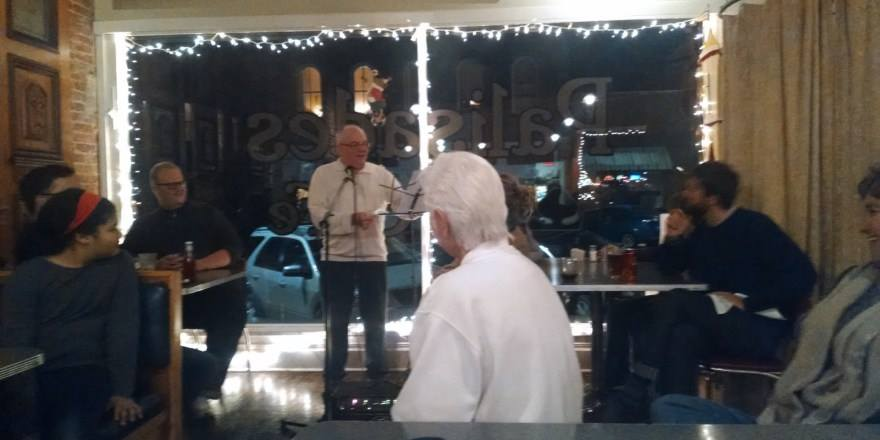 Writers Night at the Pal hosted by Joe Jennison