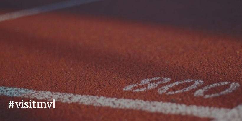 close up of track