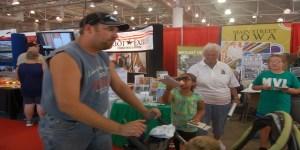 MV-L Booth at the Iowa State Fair