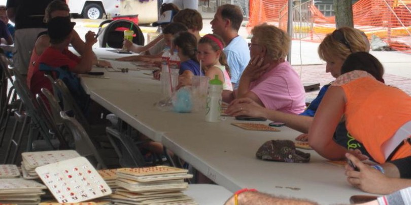 Bingo at Mount Vernon Heritage Days