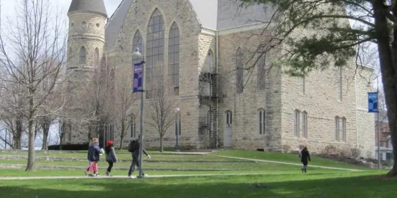 Outside of King Chapel