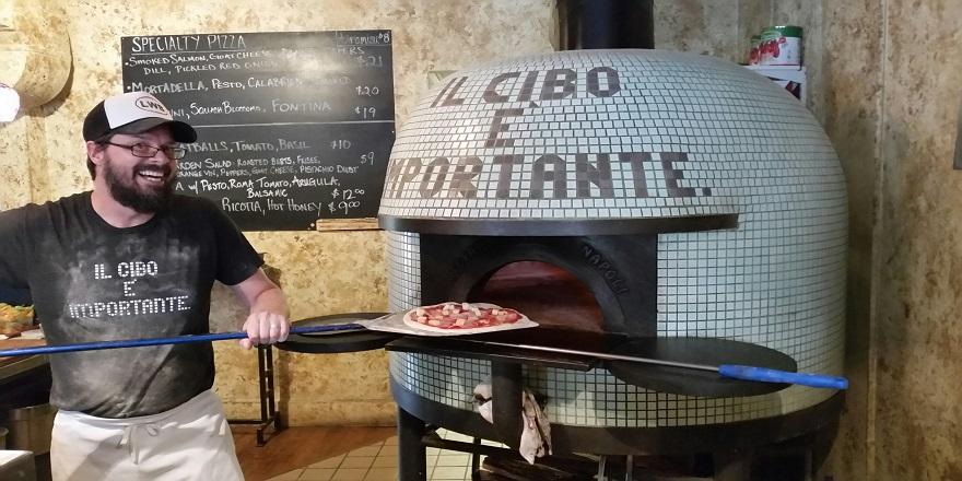 CAMV Josh at Lincoln Wine Bar Pizza Oven