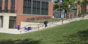 Cornell College Back of Thomas Commons